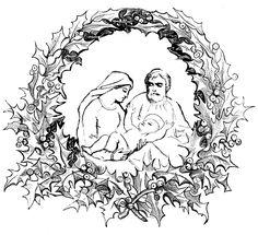 Christian Coloring Pages For Kids Christmas | Preschool | Christmas ...