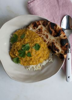 ... red dal made with red lentils onion tomato cardamom turmeric cumin