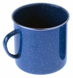 GSI enamel Mug blue 700 ml by GSI. $5.99. Camping kitchen equipment-Applicatioins: Drink. Camping kitchen equipment-Type: cups. Camping kitchen equipment:Applicatioins: DrinkType: cupsSize:Volume: 700 mlWeight: 205 gAdditional Information: size: 14 x 10,7 x 10,15 cm