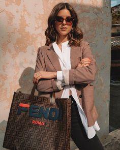 d6b55094a627 Thread Styling - Take Aim Fendi purse styling with Michelle Madsen Take Aim   fendipurse Fendi