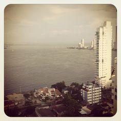 Bahìa de Cartagena.