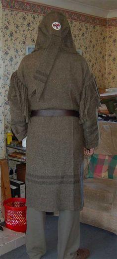 Capote coat (Blanket Coat).