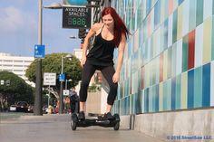 Dodgin' traffic like... #hoverlife #hoverboard