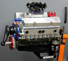 LOW COST/HIGH HP The 400 small block with the right components can get you up to and still keep reasonable reliability! V Engine, Engine Swap, Diesel Engine, Engines For Sale, Race Engines, Chevy Crate Engines, Chevy Hot Rod, Chevy Motors, Crate Motors