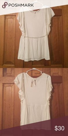 """Paolina Tee by Anthropologie Brand new, with tags, Anthropologie """"On the Road"""" Blouse Tops Blouses"""