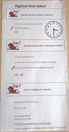 Spectacular Digital clock clock step-by-step plan Primary Maths, Primary School, Teaching Kids, Kids Learning, Math Clock, Digital Clocks, Classroom Inspiration, School Hacks, Math Classroom