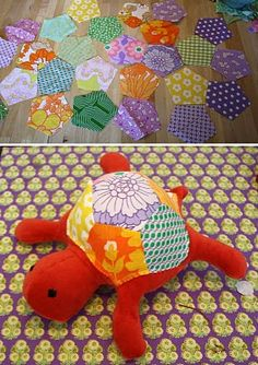 .Patchwork turtle