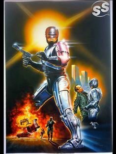 Robocop Movie Poster - Turkish ver Comic Art