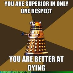 Sassy Daleks are the best Daleks