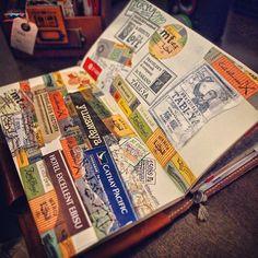 {traveler's notebook} original photo by patrickng #rightbrainplan