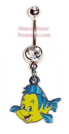 Flounder Belly Ring