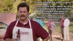 13 Food Wisdoms To Live By, According To Ron Swanson