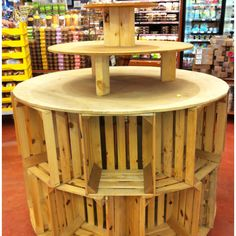 trendy crate display ideas retail shelving trendy crate display ideas retail shelvingYou can find Store displays and more on our . Gift Shop Displays, Vendor Displays, Craft Booth Displays, Display Ideas, Retail Store Displays, Pet Store Display, Boutique Store Displays, Craft Booths, Retail Stores