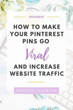 Want to get your Pinterest pins to go viral and increase your website traffic? Read the best tips and tricks for creating and sharing viral pins that people on Pinterest actually engage with and click-through to your website or blog! #pinteresttips #pinterestmarketing #pinterestdesign #pindesign #growyourblog Online Marketing, Social Media Marketing, Marketing Strategies, Marketing Ideas, Affiliate Marketing, Digital Marketing, Pinterest Design, Pinterest For Business, Make More Money