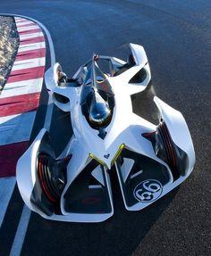 Chevrolet unveils Chaparral Vision Gran Turismo concept car at LA Auto Show. Luxury Sports Cars, Top Luxury Cars, Exotic Sports Cars, Cool Sports Cars, Carros Lamborghini, Lamborghini Cars, Model Auto, Chevy, Car Chevrolet