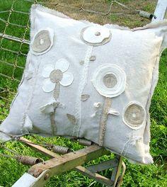 FARMHOUSE Flower Chic Pillow Slipcover by FarmhouseDebutantes, $24.00