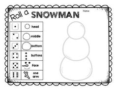 Free Printable I Spy Christmas Activity. Use this I Spy game for a classroom party, church Christmas party, or as a road trip boredom buster. Preschool Math, Kindergarten Math, Math Activities, Kindergarten Christmas, Winter Preschool Activities, Senior Activities, Elementary Math, Therapy Activities, Winter Fun