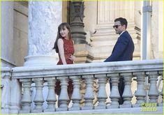 Dakota Johnson & Jamie Dornan Take 'Fifty Shades' to Paris   dakota johnson jamie dornan take fifty shades to paris 27 - Photo
