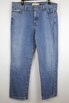 916ef47f2e2 LEVI S 505 Womens Size 16 Short Straight Leg Jeans Medium Wash  fashion   clothing
