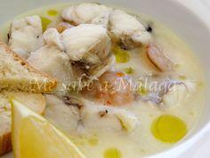 La sopa de almendras y colitas de rape es típica de La Caleta de Vélez, uno de los pueblos malagueños con más tradición pesquera de la ...