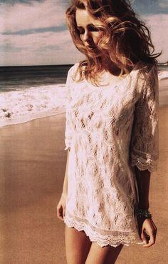 Cute beach cover-up!
