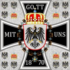 Kaiser Standarte   Germany 1880 1945: Heraldik des Deutschen Reiches und Königreich Preußen