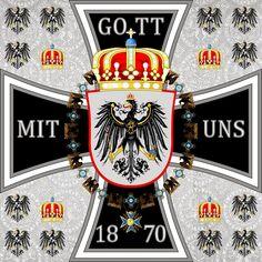 Germany 1880 1945: Heraldik des Deutschen Reiches und Königreich Preußen