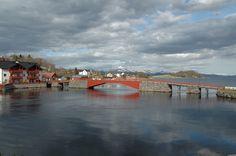 Old bridge in Vestnes, Møre and Romsdal, Norway. Photo: bestnorwegian.com