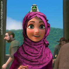 #frozen #elsa #anna #Arendelle #Olaf #hans #tangled #eugene #rapunzel #punzie #gothel #hair #longhair #disney #mickey #magic #frangled #kristoff #disneyedits #edits #racebent #hijab