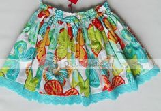 Girls :. Skirts :. #7037 Skirt with Patch Pockets