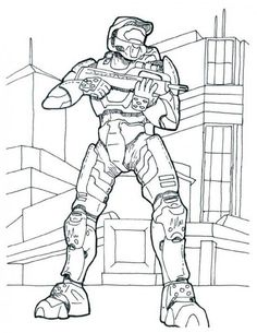Fierce 5 Halo Coloring Pages NEW Guardian Webpage 25 Pics New