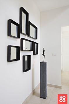 Hal met spiegels | interieur ideeën | accessoires | home deco | Hoog.design