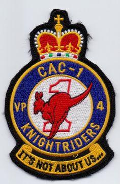 USN Navy VP 4 CAC 1 Knightriders Australia Patch   eBay