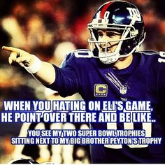 Funny but Peyton is still better