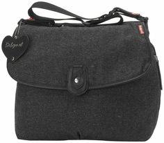 Diaper bag: Babymel Satchel - Tweed Just order for $64 on babymel website.  I'm a sucker for tweed. :)