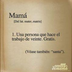 #mamá #santa #frases #citas #pinterest