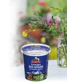 Cremiger Bio-Quark mit nur 0,2% Fett aus wertvoller Bio-Alpenmilch