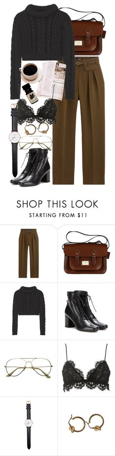 """""""Untitled #11020"""" by nikka-phillips ❤ liked on Polyvore featuring TIBI, Yves Saint Laurent, Isabel Marant and Daniel Wellington"""