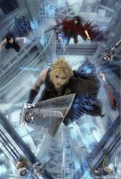 Cloud Final Fantasy VII Advent Children