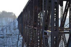 Kentucky winter at High Bridge, photo by Scott Vallandingham.
