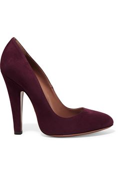 Suede pumps | Alaïa | US | THE OUTNET