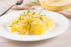 Twice-Baked Spaghetti Squash with Pesto and Parmesan #healthydish