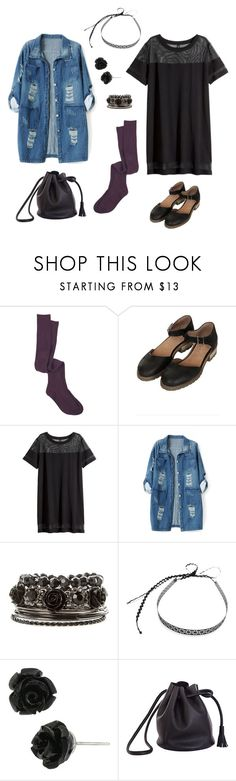 """""""This is dressed up ..."""" by rebellious-ingenue ❤ liked on Polyvore featuring Topshop, H&M, Chicnova Fashion, Mademoiselle Felee, Betsey Johnson and Shaffer"""