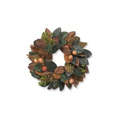 Williams-Sonoma Thanksgiving Candle Wreath ($100) ❤ liked on Polyvore featuring home, home decor, candles & candleholders, multi, fall wreath, autumn berry wreath, fall home decor, fall berry wreath and berry wreath