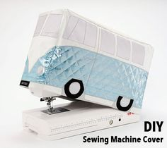 FREE Sewing Machine Cover Pattern! Protect, preserve, store, and cover your…