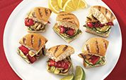 Grilled Vegetable Sliders Recipe