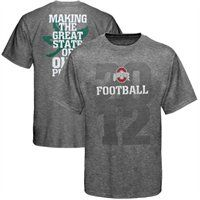 This Ohio State Buckeyes Fan T-shirt is flying off the shelves! Get it while it's hot!