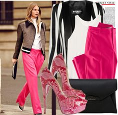"""""""Pinky Black"""" by justsweet on Polyvore"""