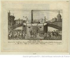 Adam Philip Kustine : General en Chef der Frantzen Armee am. Rheinstrom. Gebohren in Mez d. 4 Febr. 1740 wurde auf Befell des Revolutions Gerichts in Paris d. 28 August 1793 durch die Guillotine hingerichtet : [estampe] / [non identifié]