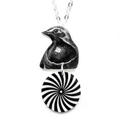Hypno Bird Necklace by Tilly Bloom